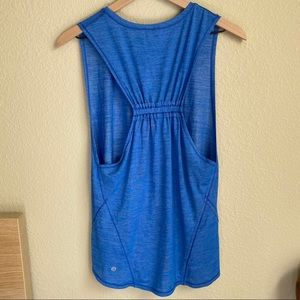 Lululemon blue tank top